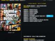 Trainer Grand Theft Auto V [GTA V] +14Tr LNG v1.0 [.exe]