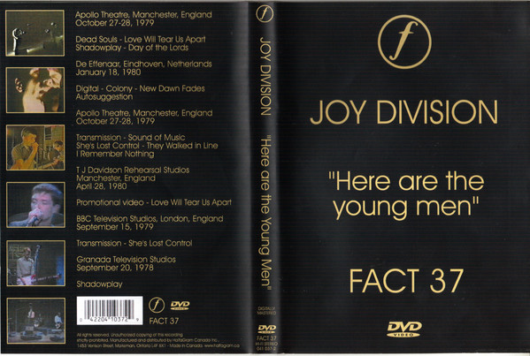 JOY DIVISION - HERE ARE THE YOUNG MEN (1982) [DVD5] [PAL] [FALLEN ANGEL]