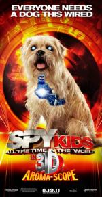 Mali agenci: Wyścig z czasem 3D - Spy Kids:  All the Time in the World 3D *2011* [miniHD] [1080p.BluRay.x264.HOU.AC3-Leon 345] [Dubbing PL]