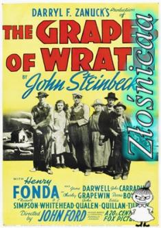 Gron Gniewu - The Grapes Of Wrath *1940* [720p.DVDRip.x264-Złośnicaa] [Lektor PL]