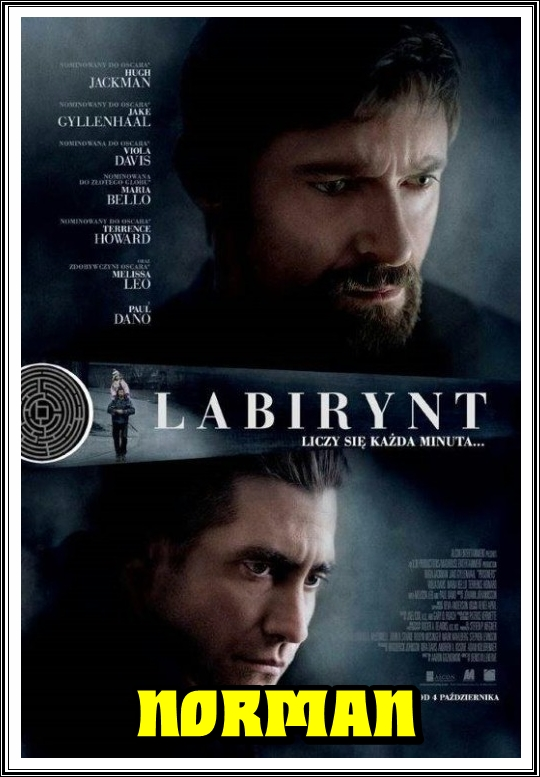 Labirynt / Prisoners (2013) [1080p] [BRRip] [XviD] [AC3-Norman] [Lektor PL]