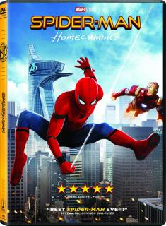 Spider-Man: Homecoming (2017) [CUSTOM] [NTSC] [DVD5-FOX] [ENG]