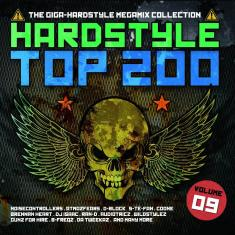 VA - Hardstyle Top 200 Vol 9 [4CD] *2016* [mp3@304kbs] [d3rbu5]
