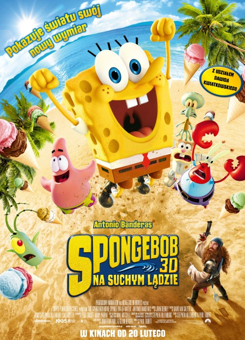 Spongebob: na suchym lądzie / The SpongeBob Movie: Sponge Out of Water (2015) [480p] [BRRip.XviD-LTN] [AC-3] [Dubbing PL]