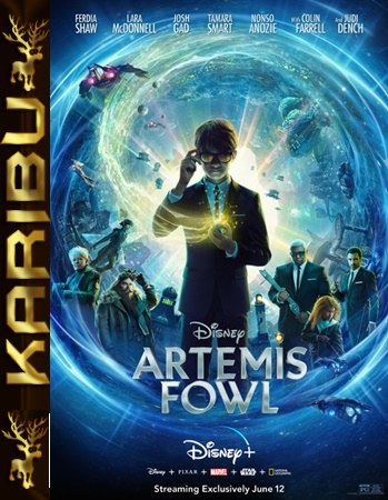 Artemis Fowl (2020) [WEB-DL] [XviD-KiT] [Dubbing PL] [Karibu]