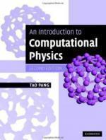 Tao Pang - An Introduction to Computational Physic [ENG] [PDF] [WURAS1]