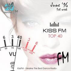 VA -  Kiss FM Top-40 June - 1st week  *2016* [mp3@320kbs] [SUPERTRAMP]