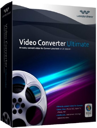 Wondershare Video Converter Ultimate 10.4.3.198(x32/x64)[Multi] [Patch]