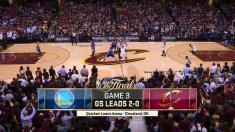 NBA 2016 FINALS G3 (08 jun) (1W) GS Warriors v (1E) CLE Cavaliers 720p 60fps -Mr. Drax