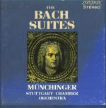 J.S.Bach - The Bach Suites (BWV 1066-1069), Stuggart Chamber Orchestra, Karl Münchinger- 1962, [DSD 128 ] [1/5.64 MHz]