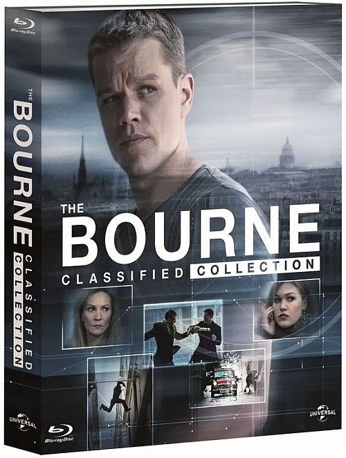 Jason Bourne (Kolekcja)- The Bourne (Collection) [2002-2016] [BluRay] [1080p] [AVC] [H264] [DTS 5.1 PL] [Lektor PL] [Spedboy]