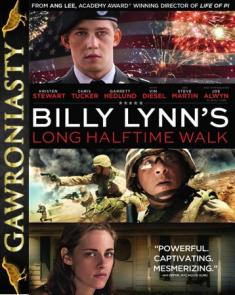 Najdłuższy Marsz Billy'ego Lynna - Billy Lynn's Long Halftime Walk *2016* [BDRip.XviD-KiT] [Lektor PL]
