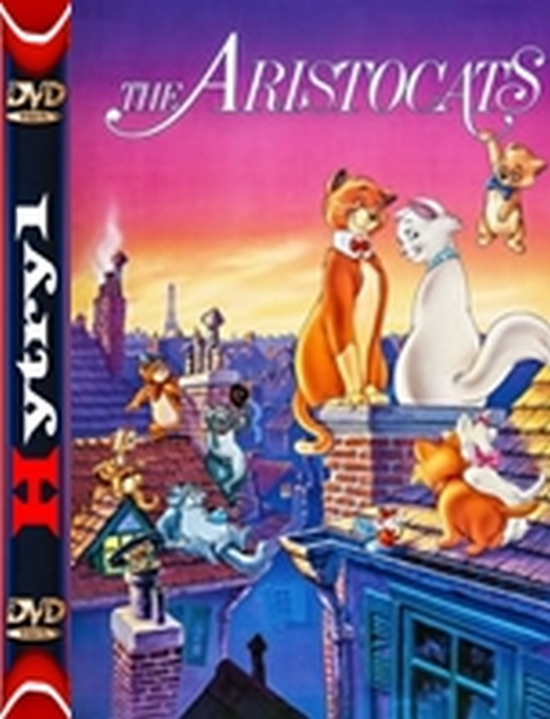 Aryskotraci - The Aristocats (1970) [480p] [BRRip] [XviD] [AC3-LTN] [Dubbing PL] [H-1]