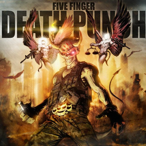 Five Finger Death Punch - Dyskografia - [2007-2020] [FLAC] [LP] [24 192] [marta]