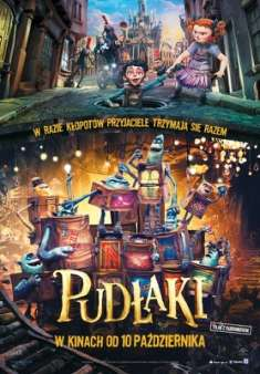Pudłaki - The Boxtrolls *2014* [480p.BDrip.XviD.DD5.1-MAXX] [Dubbing PL]