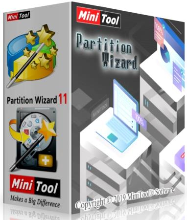 MiniTool Partition Wizard Technician 12.1 (x32x64)[Multi] [Crack]